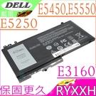 DELL E5250,E5450,E5550 電池(保固最久)-Latitude 12 5000, 12 5250,5450,5550,3160,9P4D2,R5MD0,VY9ND, RYXXH