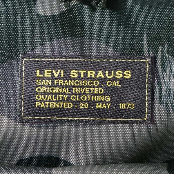 Levis 男女同款 L1機能後背包 / 雪地迷彩 / 都會電腦包