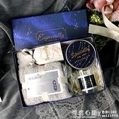 結婚禮伴娘伴手禮盒男士生日禮物女伴郎ins喜糖盒子閨蜜創意毛巾 ◣怦然心動◥