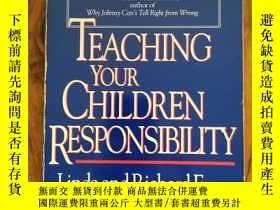 二手書博民逛書店Teaching罕見Your Children Responsi