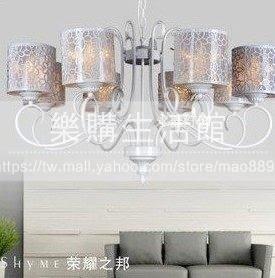 歐式客廳復古燈古典8頭大吊燈LG-18915
