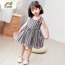 新款女童洋裝夏寶寶裙子兒童小女孩可愛無袖洋裝純棉童裝 夏季新品