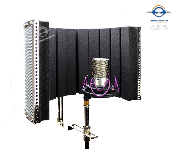 【音響世界】美國On-Stage Stands Isolation Shield輕量型可調式專業隔音吸音屏