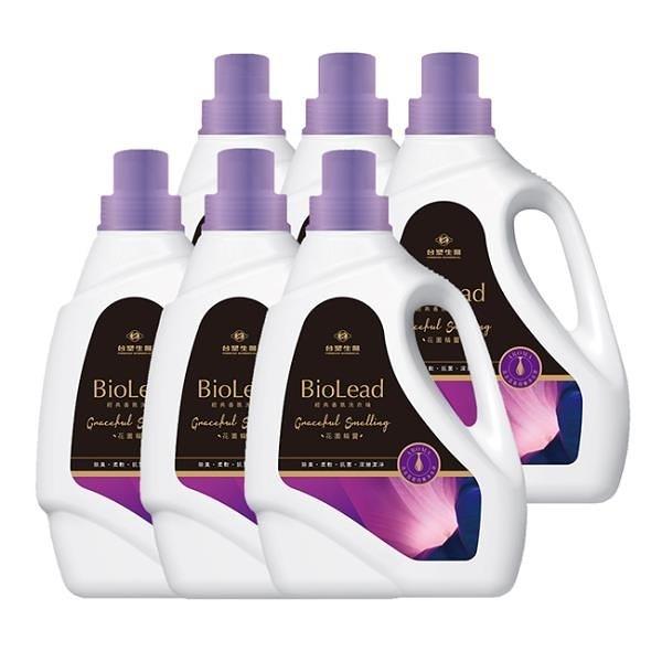 【南紡購物中心】《台塑生醫》BioLead經典香氛洗衣精 花園精靈2kg(6瓶)