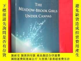 二手書博民逛書店The罕見Meadow-Brook Girls Under Ca