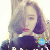 短假髮韓式女生氣質中分BOBO頭 假髮女 短髮 梨花頭帥氣蓬鬆自然 短卷髮