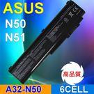 ASUS 華碩 日韓系電芯 A32-N50 高容量 電池 N51A  N51S N51TP N51VG N50 N50VC-FP212E N51