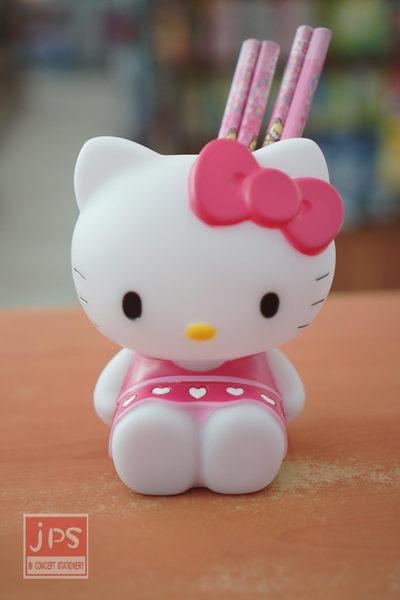 Hello Kitty 坐姿筆筒 (粉蝴蝶結)
