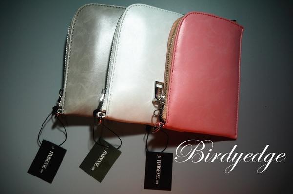 【BIRDYEDGE】訂製 手拿包 皮包 掛包 掛頸包 暗黑包 掛繩包 吊繩包 皮革包 手機包 Korea Zara