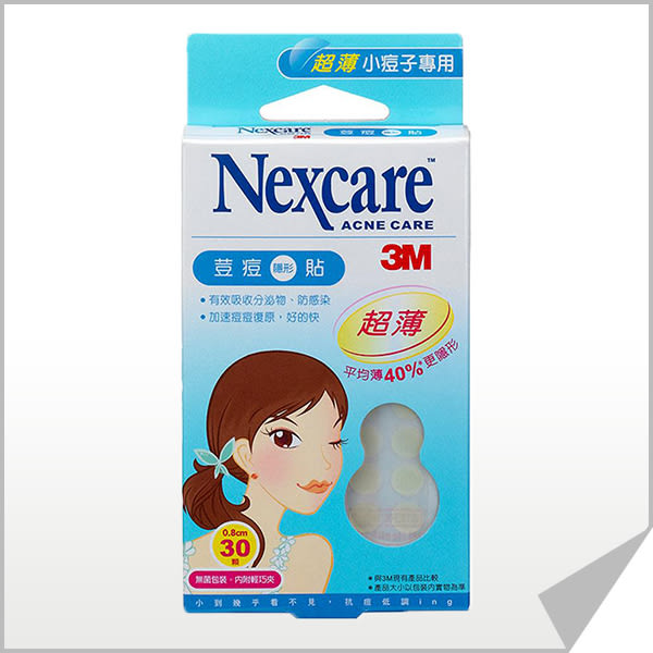 3M Nexcare 荳痘隱形貼 TA030-超薄型