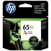 HP 65XL 三色高容量墨水匣(N9K03AA)