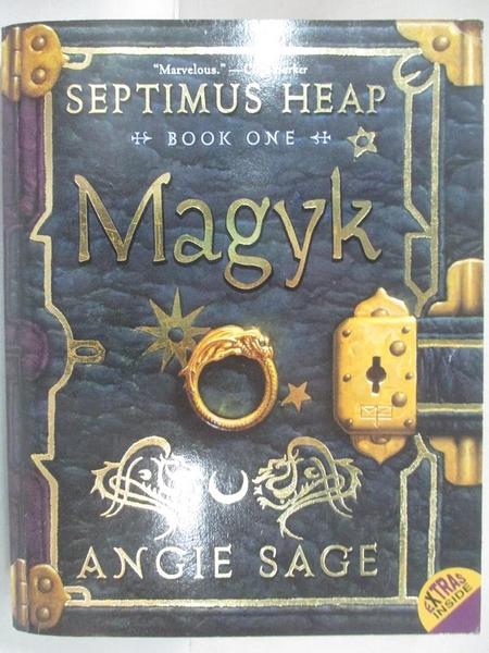 【書寶二手書T6/原文小說_GJJ】Magyk_Angie Sage