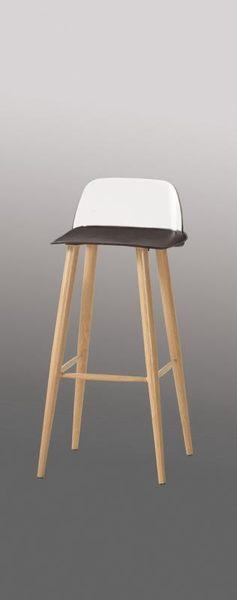 8號店鋪 森寶藝品傢俱 c-01 品味生活 吧椅系列 1043-5布魯諾吧椅(高)(黑)(8063b)