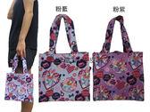 雪黛屋Disney 黛絲餐袋手提才藝袋簡易袋小容量  防水PVC 兒童青少男女全齡 KNN2001 小