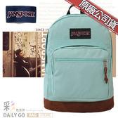 JANSPORT後背包包帆布包15吋筆電包大容量JS-43969-9ZG湖水綠
