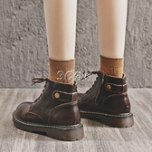馬丁靴新款秋季英倫風春秋單靴顯腳小ins潮女鞋短靴 雙十一全館免運
