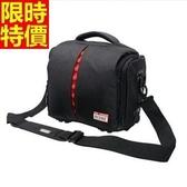 相機包-多功能防水帆布肩背攝影包2色68ab2【時尚巴黎】