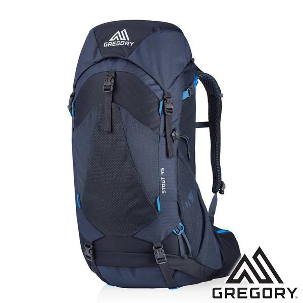 【美國 GREGORY】 STOUT 登山背包 45L『8320 幻影藍』G126872 (專為女性設計) 登山|露營|後背包