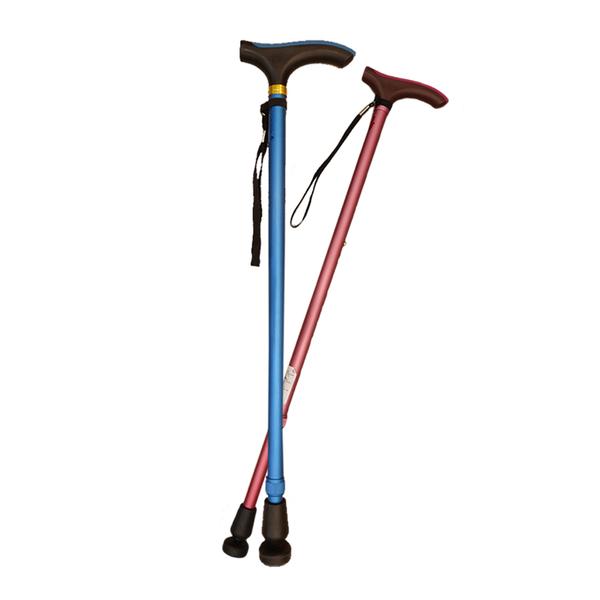 【杏華】休閒手杖 (專利轉動式腳墊/安全防滑) 適合步行不穩高齡者/爬山/郊遊/拐杖