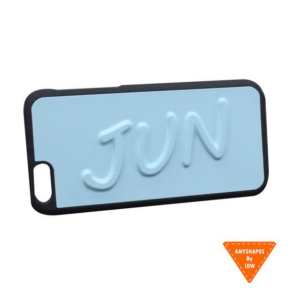 《現貨商品》Anyshapes-iPhone6/6s 4.7吋 手寫簽名手機背蓋 -JUN天藍(原價1050)