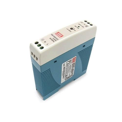 [2美國直購] denkovi Mean Well MDR-20-24 Industrial DIN Rail Power Supply 24V/1A Out