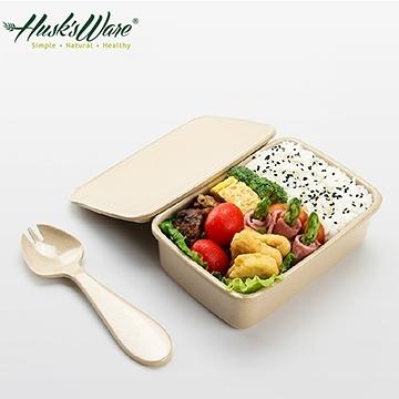 【南紡購物中心】【Husk's ware】美國Husk's ware稻殼天然無毒環保便當盒-小