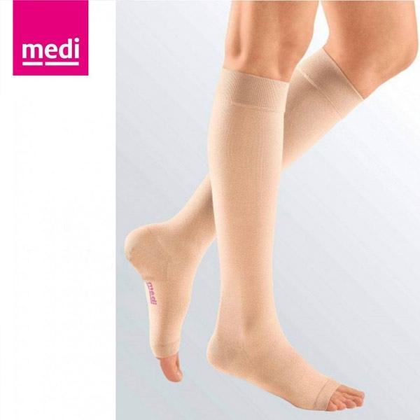 美締 medi 專業醫療彈性襪 機能型小腿襪 ccl.1 膚色、露趾 (單件) 德國進口【杏一】
