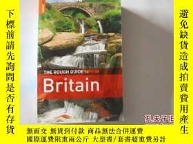 二手書博民逛書店THE罕見ROUGH GUIDE TO BRITAIN 【392】Y10970 ROUGH GUIDE 出