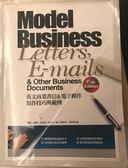 (二手書)英文商業書信&電子郵件寫作技巧與範例