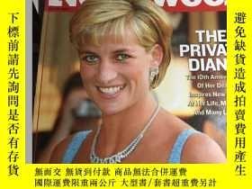 二手書博民逛書店Newsweek罕見新聞週刊 June 18, 2007 戴安娜