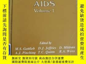 二手書博民逛書店Current罕見Topics in AIDS-當前艾滋病專題Y443990 John Wiley and J