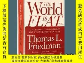 二手書博民逛書店世界是平的罕見英文原版 The World is Flat 21