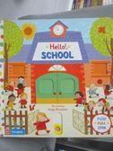 【書寶二手書T1/少年童書_ZAV】Hello! School_Rozelaar, Angie (ILT)