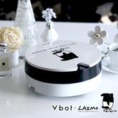 【送擦地組】Vbot × 人氣插畫馬來貘 掃地機器人 吸塵器 i6 蛋糕機 (白松露)