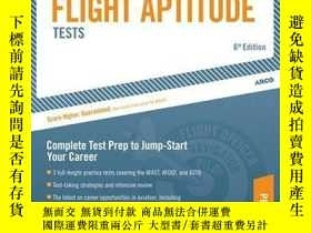 二手書博民逛書店Military罕見Flight Aptitude Tests, 6 e (ARCO MILITARY TEST