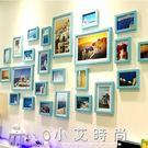 地中海客廳照片牆裝飾相框牆相片牆掛牆組合...