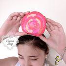 《花花創意会社》外流。歐家夏鮮花玫紅摺疊購物包【H5114】