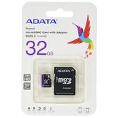 ADATA 威剛 32GB Premier microSDHC UHS-I Class10 記憶卡