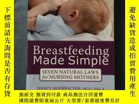 二手書博民逛書店(英文原版)Breastfeeding罕見Made Simple