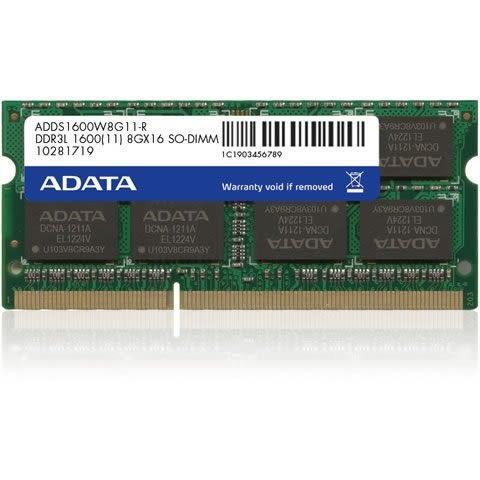 威剛 筆記型記憶體 【ADDS1600W8G11-R】 8GB DDR3-1600 1.35V 終保 新風尚潮流