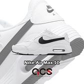 Nike 休閒鞋 Air Max SC 白 黑 小白鞋 氣墊 男鞋 復古慢跑鞋 【ACS】 CW4555-102