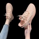 椰子鞋 椰子鞋女350百搭飛織跑步鞋女鞋2021年新款春夏休閒運動老爹鞋女