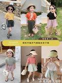 親子裝奶油媽2019夏裝女童短袖T恤寬鬆半袖洋氣兒童新款銅氨絲親子裝潮 非凡小鋪