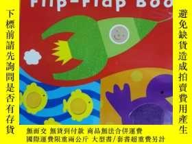 二手書博民逛書店baby罕見touch flip flap book 兒童讀物 英文版Y42402