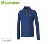 丹大戶外用品【Mountneer】山林休閒 男遠紅雲彩保暖上衣 32P11-80 寶藍
