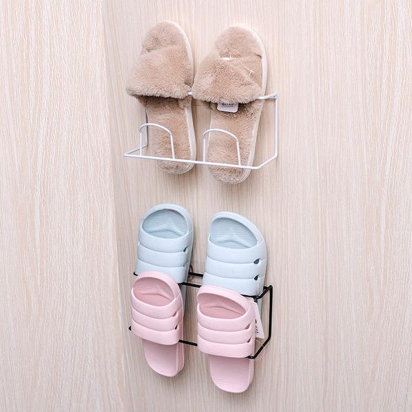 浴室拖鞋架衛生間壁掛懸掛式鞋子收納~