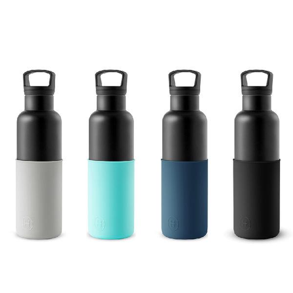 HYDY 海軍藍-黑瓶 時尚保溫水瓶 590ml