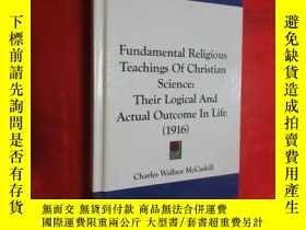 二手書博民逛書店Fundamental罕見Religious Teachings of Christian Science (小1