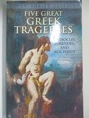 【書寶二手書T1/原文小說_BAJ】Five Great Greek Tragedies: Sophocles, Euripides…