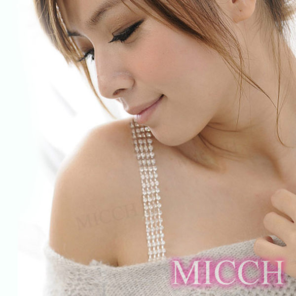 MICCH PARTY QUEEN璀璨四排閃耀捷克鑽石肩帶